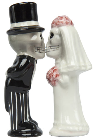 Love Never Dies Salt & Pepper Shakers - Highway Thirty One - 1
