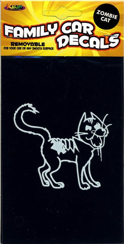 Zombie Cat Window Cling - Highway Thirty One