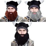 Knitted Viking Beanie with Beard - Highway Thirty One - 1