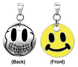 Skull Smiley Face Pendant - Highway Thirty One