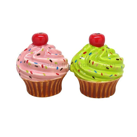 Cupcake Magnetic Salt and Pepper Shaker - Highway Thirty One