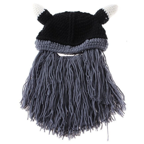Knitted Viking Beanie with Beard - Highway Thirty One - 3