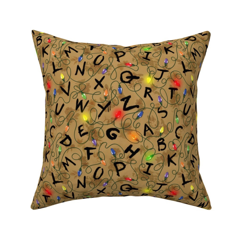 16 By 16 Pillow.Right There Stranger Things Decorative Pillow Cover 16 X 16