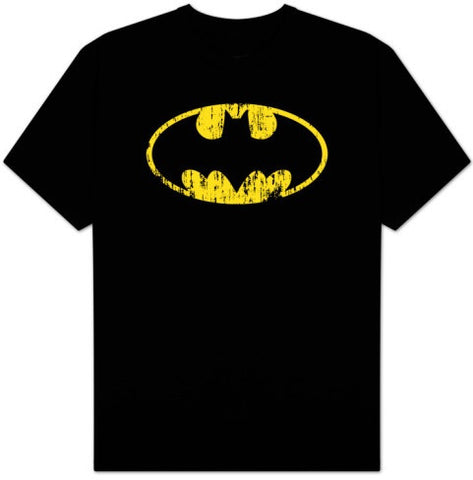 Batman Distressed Logo Tee - Highway Thirty One