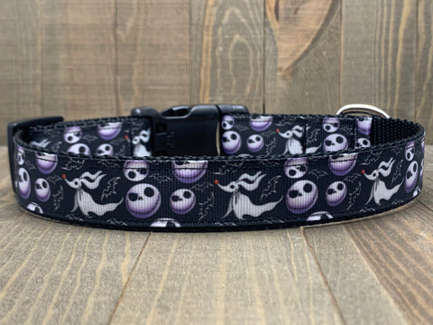 Nightmare Before Christmas Pet Collar