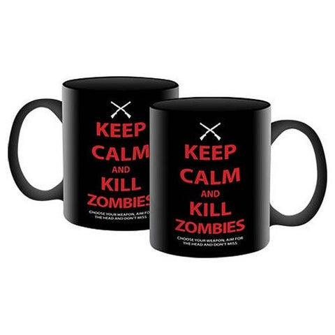 Keep Calm and Kill Zombies Mug - Highway Thirty One - 1