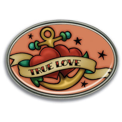 True Love Retro Belt Buckle - Highway Thirty One
