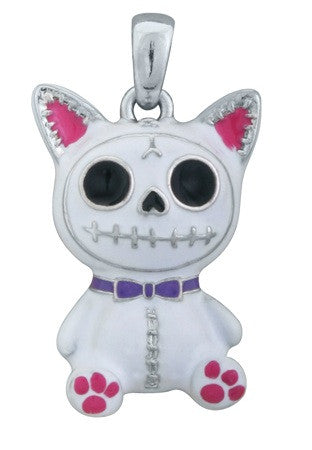 Furrybones® White Mao-Mao Pendant - Highway Thirty One