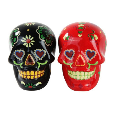 Day of The Dead Salt and Pepper Shaker - Highway Thirty One