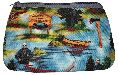 Camp Crystal Lake Wristlet