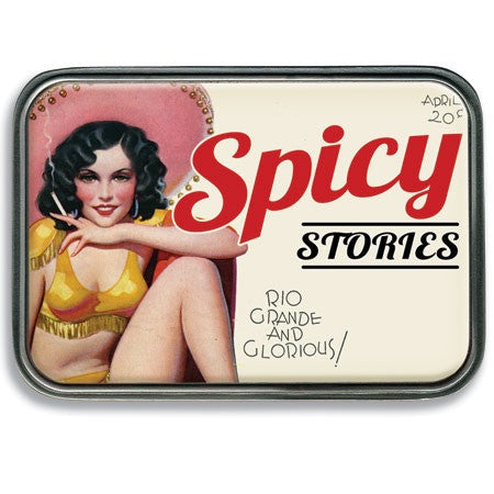 Spicy Stories Belt Buckle - Highway Thirty One
