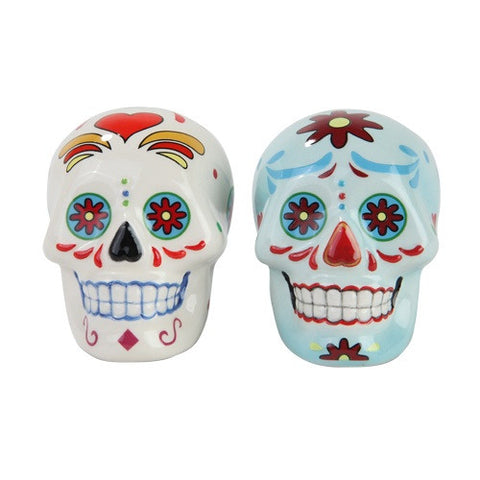 Day of the Dead Salt & Pepper Shaker - Highway Thirty One