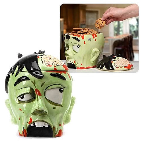 Zombie Head Cookie Jar - Highway Thirty One