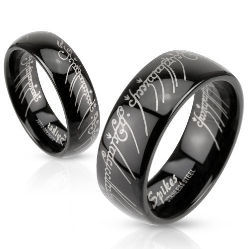 Lord of the Rings - Stainless Steel Ring - Highway Thirty One