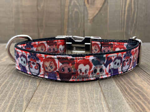 Classic Horror Pet Collar