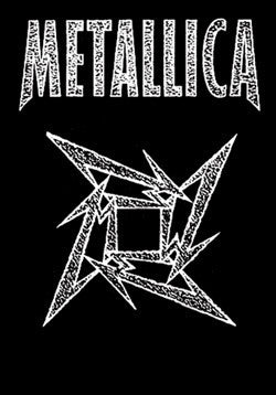 Metallica Ninja Star Silk Flag - Highway Thirty One