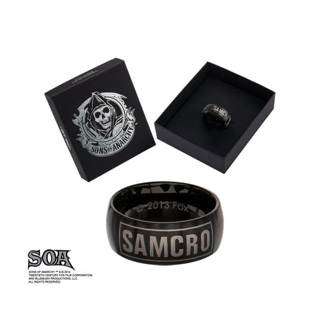 Sons of Anarchy Stainless Steel SAMCRO Rings - Highway Thirty One - 1