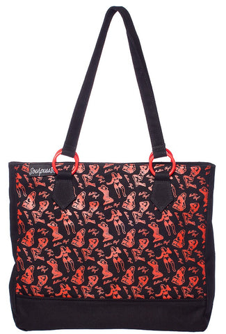 Sourpuss Bettie Page Tote - Highway Thirty One - 1