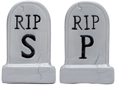 SOURPUSS TOMBSTONE SALT & PEPPER SHAKERS - Highway Thirty One - 1