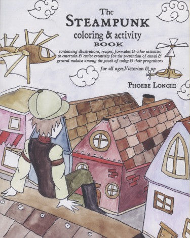 Steampunk Coloring and Activity Book - Highway Thirty One