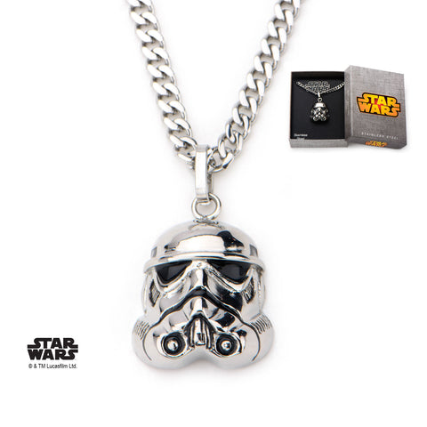 Storm Trooper Stainless Steel Pendant - Highway Thirty One - 1