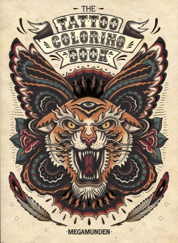 Tattoo Art Coloring Book - Highway Thirty One