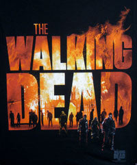Walking Dead tee with Fire Logo - Highway Thirty One