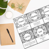 Oracle Creations - Color Your Oracle | Little Messages | Printable | Digital Download