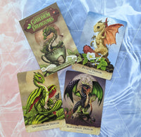 Field Guide to Garden Dragons | Oracle Card Deck | Arwen Lynch | Stanley Morrison