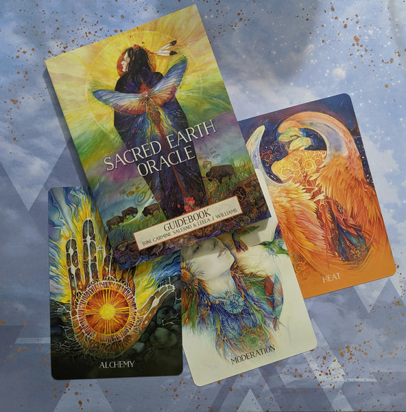 Sacred Earth Oracle Card Deck | Toni Carmine Salerno