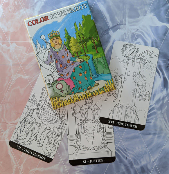 Color Your Tarot Card Deck | Barbara Moore