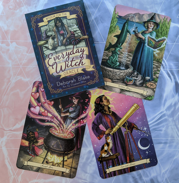 Everyday Witch Oracle Card Deck | Deborah Blake