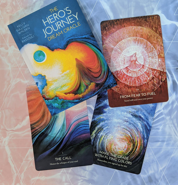 Hero's Journey Dream Oracle | Oracle Card Deck | Kelly Sullivan Walden | Rassouli
