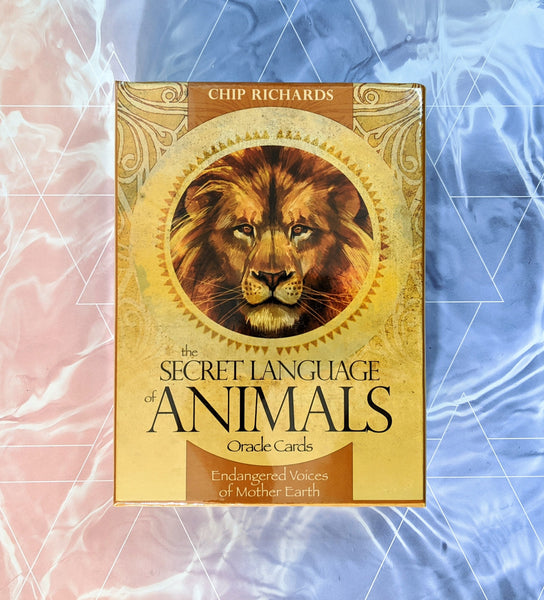 Secret Language of Animals Oracle Card Deck | Chip Richards | Spirit Animal