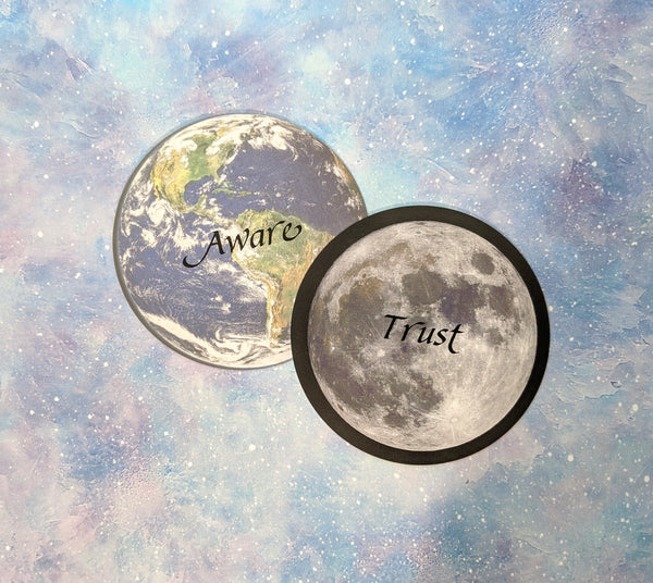 Bundle | Messages from the Moon + Messages from the Earth Oracle Cards | Starseed Academy
