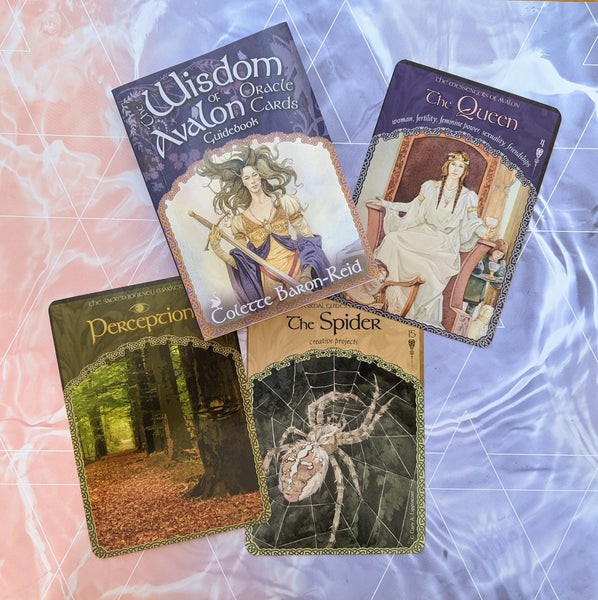 Wisdom of Avalon | Oracle Card Deck | Colette Baron-Reid