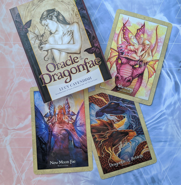 Oracle of the Dragonfae | Oracle Card Deck | Lucy Cavendish