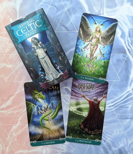 Universal Celtic Tarot Card Deck | Floreana Nativo