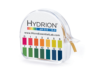 Micro Essential Hydrion Insta-Check pH Paper