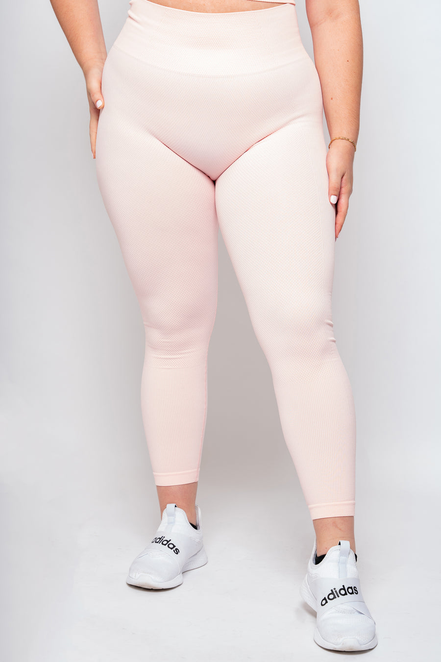 Light Pink Seamless Lifestyle Leggings