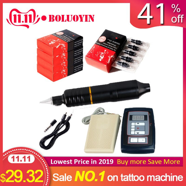 professional tattoo machine Alloy Motor Rotary Eyebrow Cartridge Rotary Tattoo Machine Gun for shader linnner coloring
