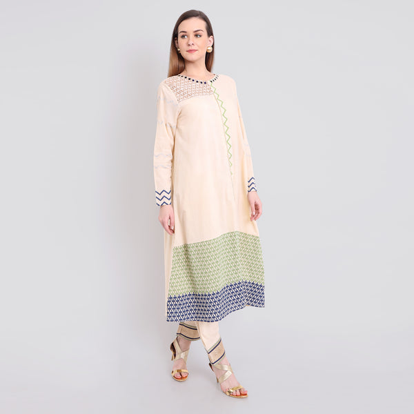 Printed Kurta Set