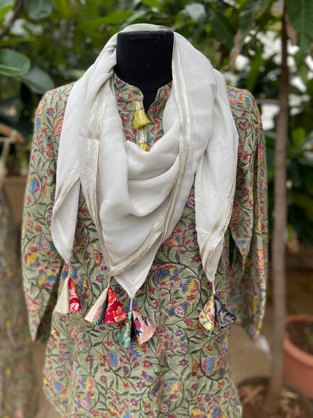 Tunic with Palazzo and Stole
