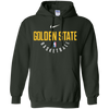 Golden State Warriors Hoodie - Forest Green - Shipping Worldwide - NINONINE