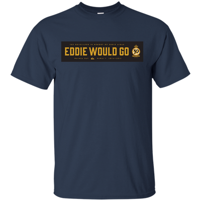 Eddie Aikau Shirt - Navy - Shipping Worldwide - NINONINE