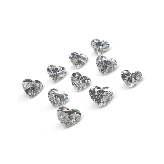 Heart Shape - CVD/HPHT Lab Grown Diamonds