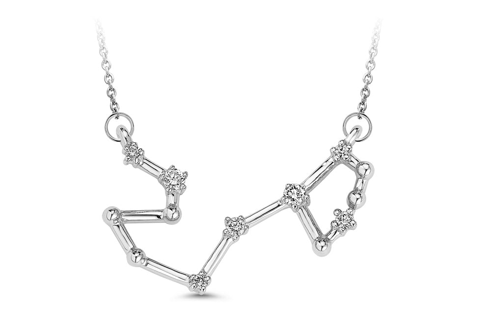 Scorpio Constellation Diamond Pendant