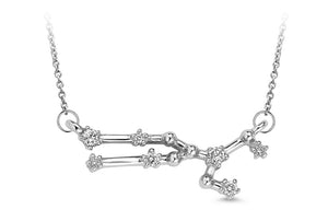Taurus Constellation Diamond Pendant