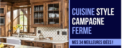 cuisine style campagne ferme