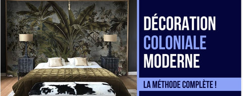 deco coloniale moderne